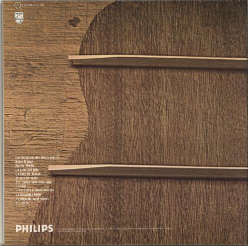 Georges Brassens Les Amoureux Des Bancs Publics French Vinyl Lp