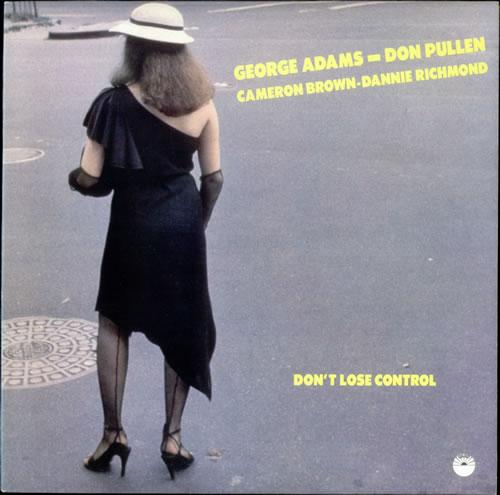 George Adams Don't Lose Control vinyl LP album (LP record) Italian 1GALPDO532923