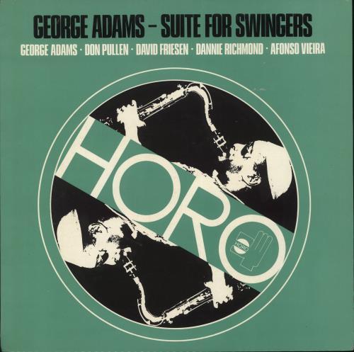 George Adams Suite For Swingers vinyl LP album (LP record) Italian 1GALPSU707995