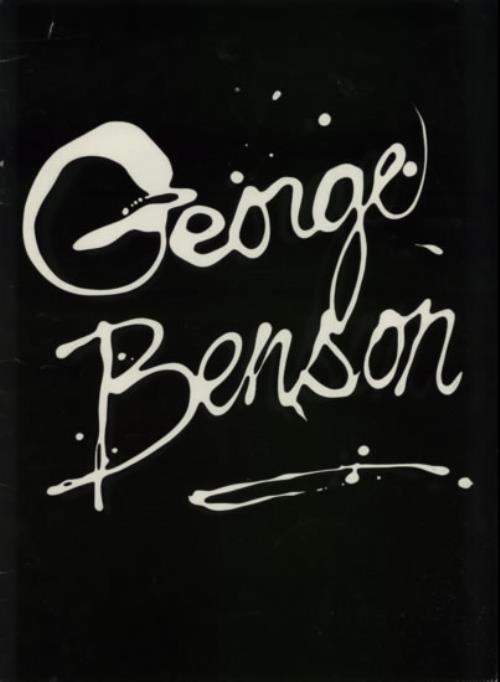 George Benson 1981 Tour Programme tour programme UK GBETRTO609935