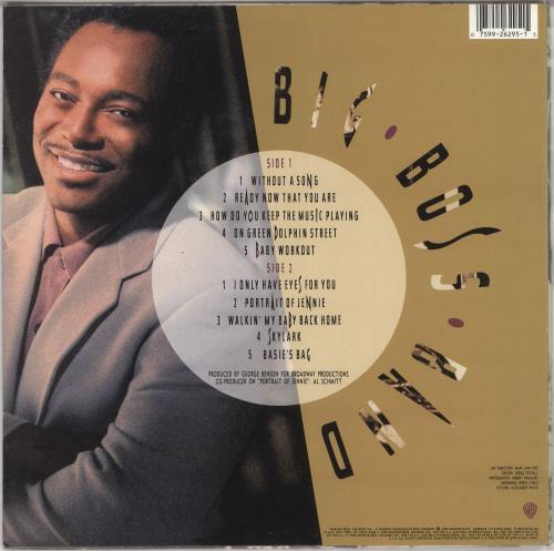 George Benson Big Boss Band vinyl LP album (LP record) German GBELPBI723203