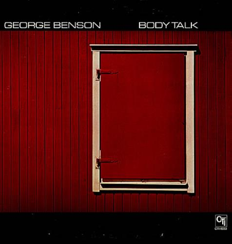 George Benson Body Talk vinyl LP album (LP record) US GBELPBO362750