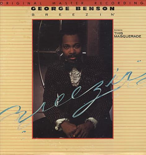 George Benson Breezin' vinyl LP album (LP record) US GBELPBR324551