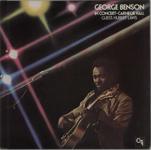 George Benson In Concert - Carnegie Hall vinyl LP album (LP record) UK GBELPIN352591