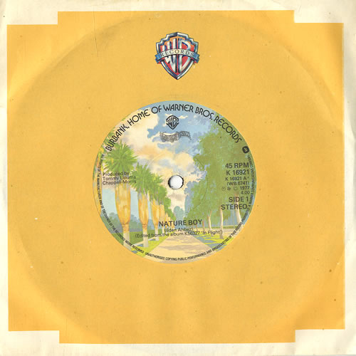 "George Benson Nature Boy 7"" vinyl single (7 inch record) UK GBE07NA564315"