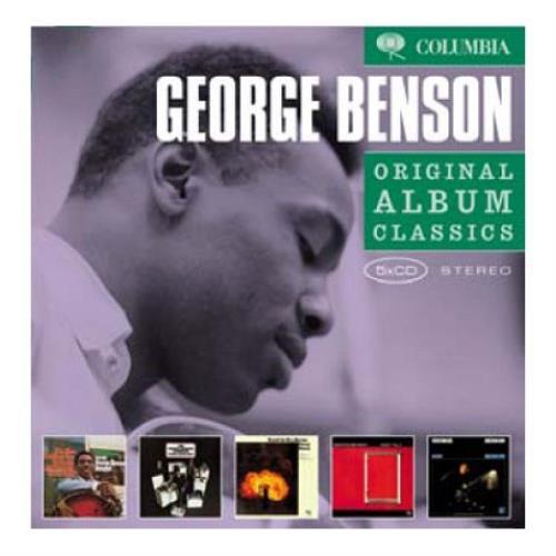 George Benson Original Album Classics 5-CD album set UK GBE5COR417183