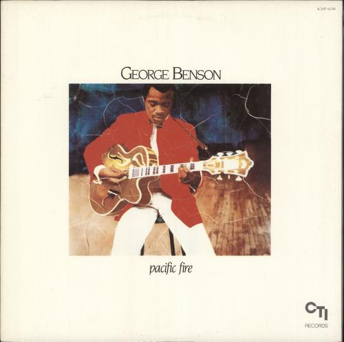 George Benson Pacific Fire vinyl LP album (LP record) Japanese GBELPPA723208