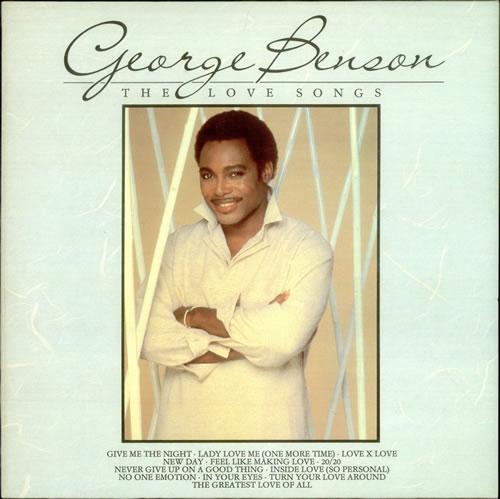 George Benson The Love Songs vinyl LP album (LP record) UK GBELPTH284605