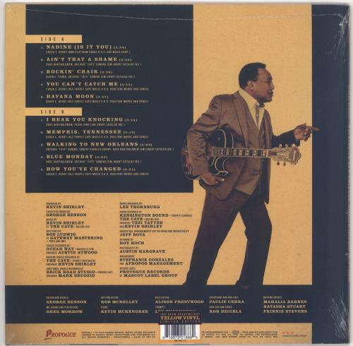 George Benson Walking to New Orleans - 180gram Yellow Vinyl - Sealed vinyl LP album (LP record) UK GBELPWA719749