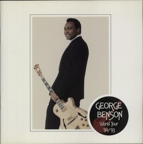 George Benson World Tour '92/'93 tour programme UK GBETRWO679516