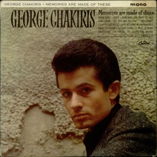 George Chakiris Memories Are Made Of This vinyl LP album (LP record) UK GKILPME548523