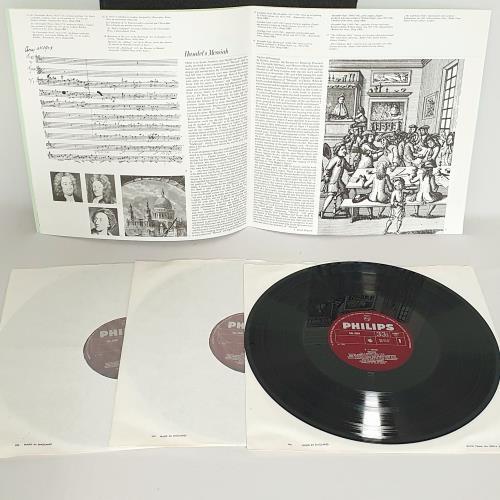 George Frideric Handel Messiah Vinyl Box Set UK HJRVXME762627