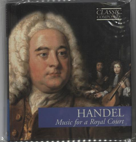 George Frideric Handel Music For A Royal Court CD album (CDLP) UK HJRCDMU665218