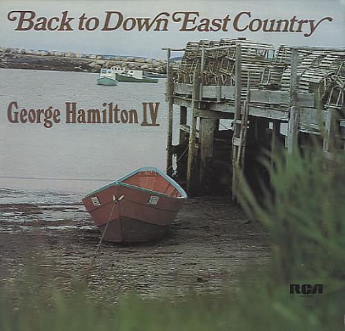 George Hamilton IV Back To Down East Country vinyl LP album (LP record) UK GB1LPBA371204