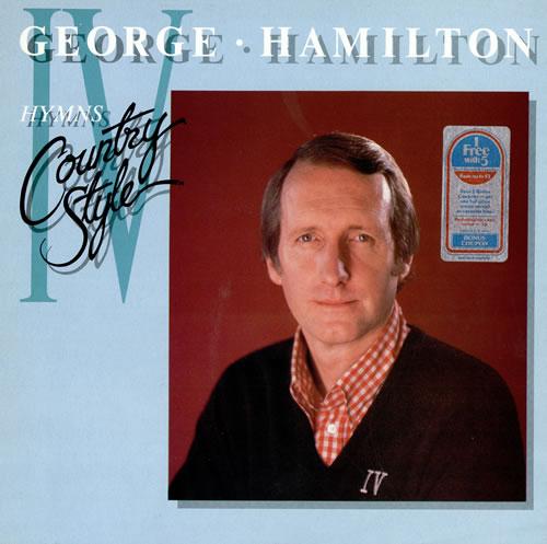 George Hamilton IV Hymns Country Style vinyl LP album (LP record) UK GB1LPHY461319