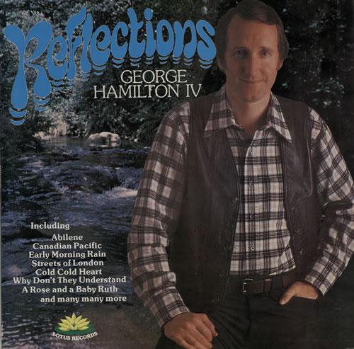 George Hamilton IV Reflections vinyl LP album (LP record) UK GB1LPRE572414