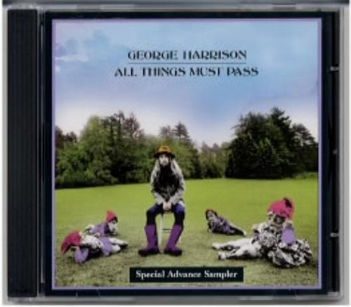 George Harrison All Things Must Pass Special Advance Sampler CD album (CDLP) UK GHACDAL175954