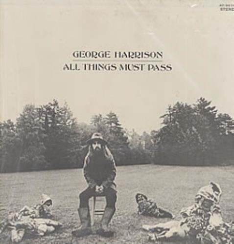 George Harrison All Things Must Pass Vinyl Box Set Japanese GHAVXAL217700