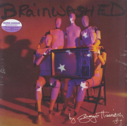 George Harrison Brainwashed - Sealed vinyl LP album (LP record) UK GHALPBR529472