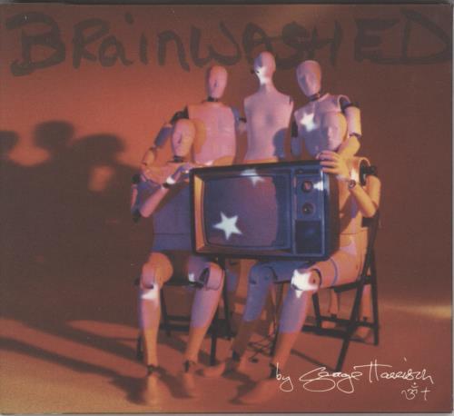 George Harrison Brainwashed CD album (CDLP) UK GHACDBR226483