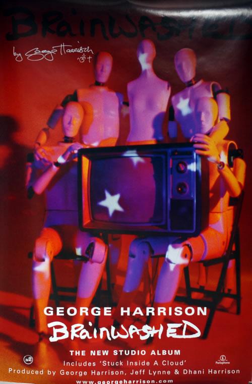 George Harrison Brainwashed UK Promo poster (231530)