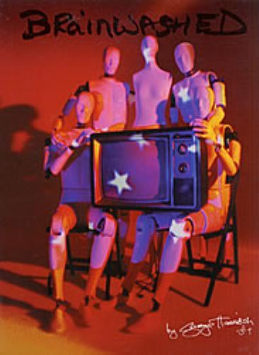 George Harrison Brainwashed - EX UK vinyl LP album (LP