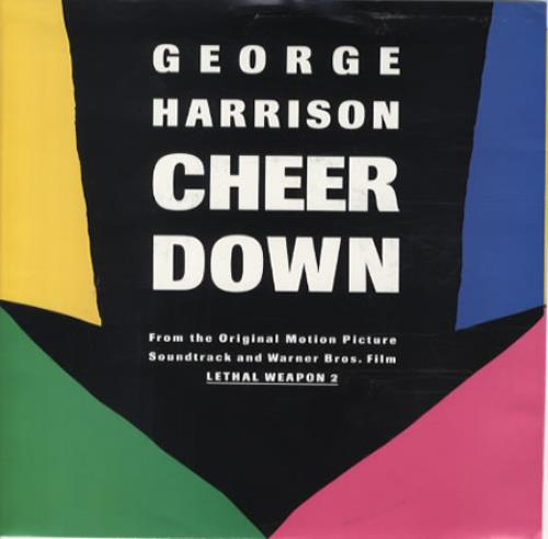"George Harrison Cheer Down 7"" vinyl single (7 inch record) US GHA07CH345215"