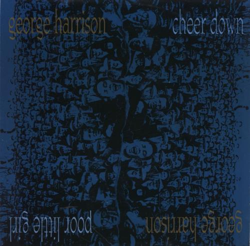 "George Harrison Cheer Down 7"" vinyl single (7 inch record) UK GHA07CH59688"