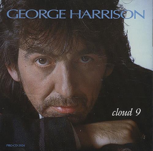 "George Harrison Cloud 9 CD single (CD5 / 5"") US GHAC5CL88405"