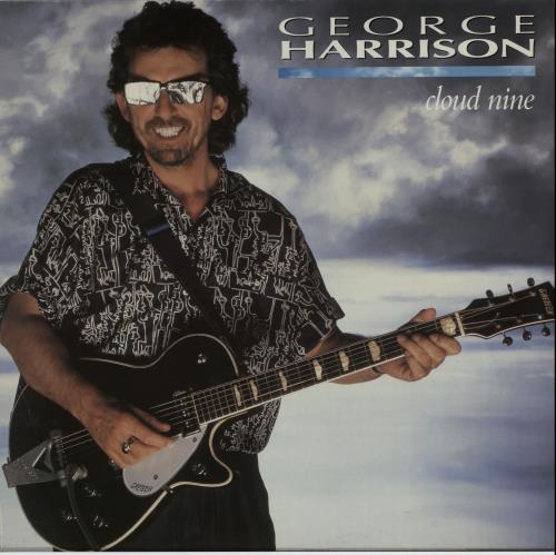 George Harrison Cloud Nine - EX vinyl LP album (LP record) UK GHALPCL586232