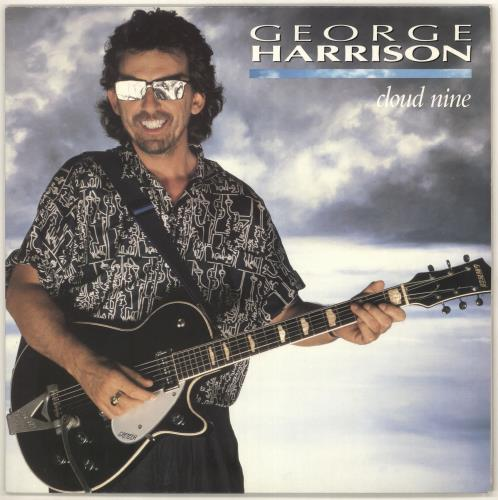 George Harrison Cloud Nine vinyl LP album (LP record) UK GHALPCL75331