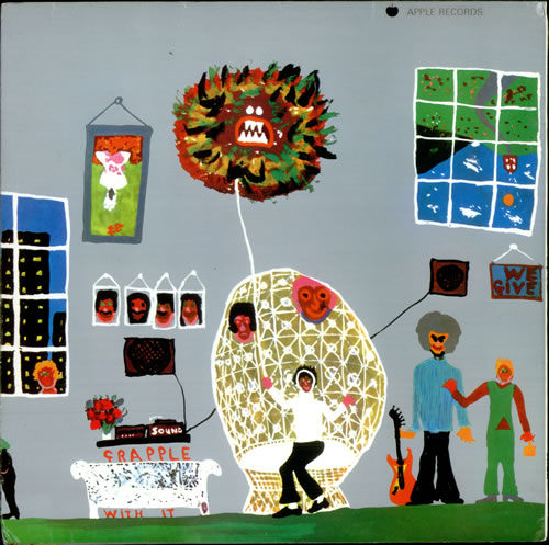 George Harrison Electronic Sound vinyl LP album (LP record) UK GHALPEL518909