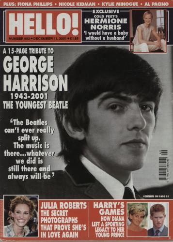 George Harrison Hello