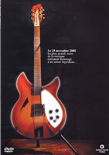 George Harrison Le Concert Hommage A George Harrison handbill French GHAHBLE271079