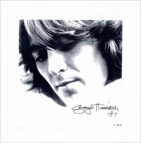 George Harrison Let It Roll: Songs by George Harrison - Lithograph memorabilia US GHAMMLE480527