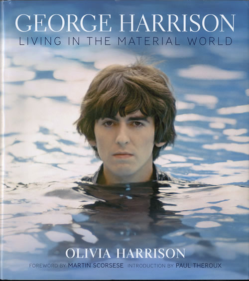 George Harrison Living In The Material World Us Book