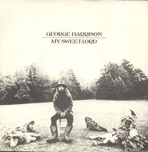 "George Harrison My Sweet Lord - 3rd - 4pr - P/S 7"" vinyl single (7 inch record) UK GHA07MY45253"