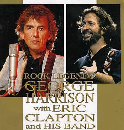 George Harrison Rock Legends tour programme Japanese GHATRRO103630