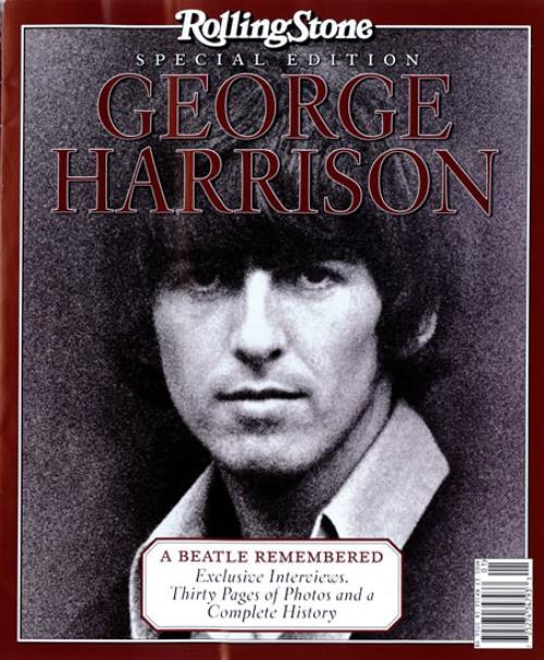 George Harrison Rolling Stone Special Edition Magazine US GHAMARO292675