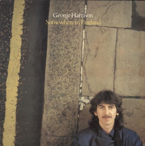 George Harrison Somewhere In England - EX vinyl LP album (LP record) UK GHALPSO247976