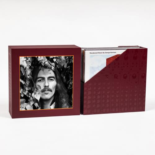 George Harrison The Vinyl Collection Vinyl Box Set UK GHAVXTH667087