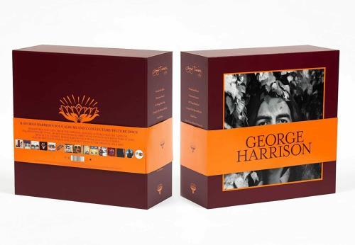 George Harrison The Vinyl Collection Vinyl Box Set UK GHAVXTH775980