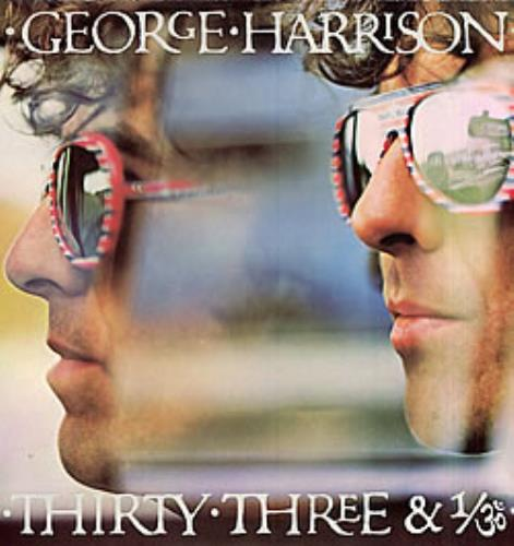 George Harrison Thirty-Three & 1/3 vinyl LP album (LP record) German GHALPTH272487