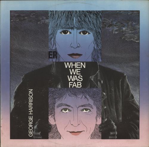 "George Harrison When We Was Fab 12"" vinyl single (12 inch record / Maxi-single) UK GHA12WH27560"