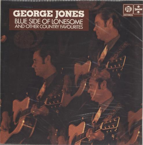 George Jones Blue Side Of Lonesome And Other Country vinyl LP album (LP record) UK GEJLPBL721270