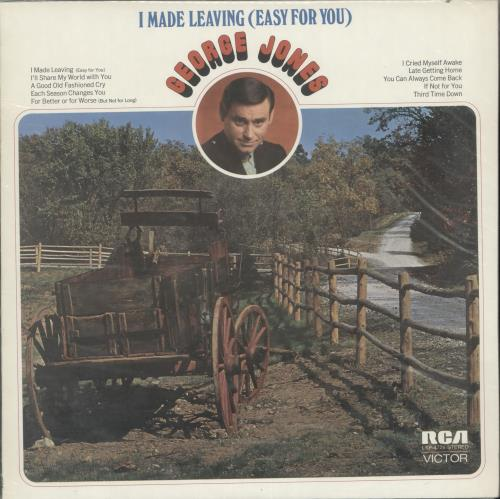 George Jones I Made Learning (Easy For You) vinyl LP album (LP record) US GEJLPIM699713