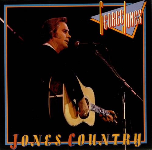 George Jones Jones Country vinyl LP album (LP record) UK GEJLPJO437213