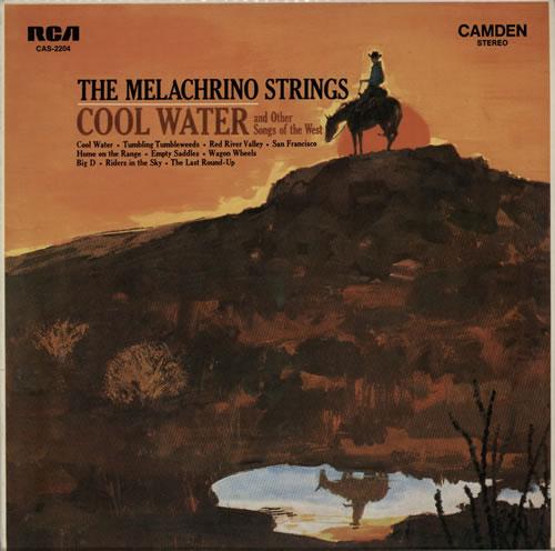 George Melachrino Cool Water vinyl LP album (LP record) Australian H25LPCO577846