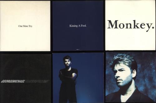 "George Michael 1984-1993 Singles 7"" vinyl single (7 inch record) UK GEO07SI726434"