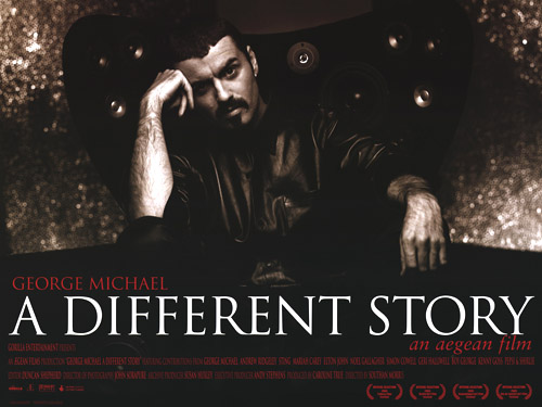 George Michael A Different Story poster UK GEOPOAD698033